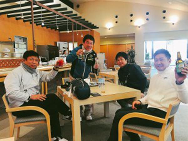 新春ゴルフ会