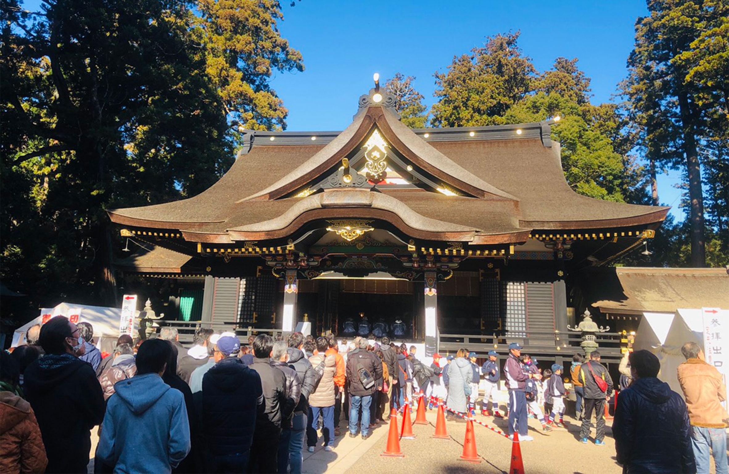 香取神社へ初詣