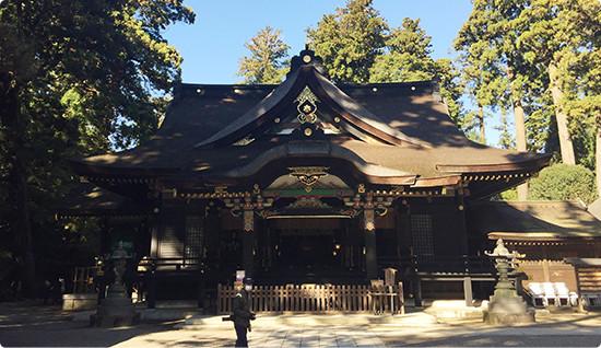 香取神宮への灯篭を奉納1