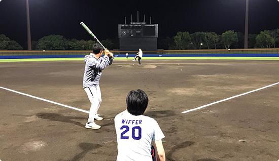 野球チーム発足1