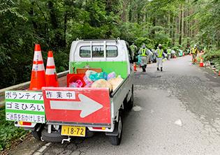佐倉市建設業災害防止協会 環境美化活動